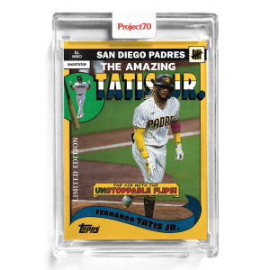 Topps Project70® Card 177 -  2002 Fernando Tatis jr. by UNDEFEATED