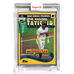 Topps Project70® Card 177 -  2002 Fernando Tatis jr. by UNDEFEATED  - Artist Proof # to 51