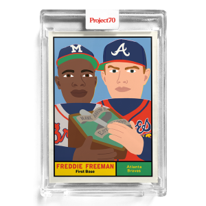 Topps Project70® Card 178 -  1961 Freddie Freeman by Keith Shore