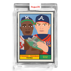 Topps Project70® Card 178 -  1961 Freddie Freeman by Keith Shore  - Artist Proof # to 51