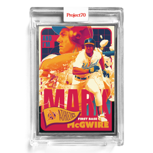 Topps Project70® Card 179 -  1965 Mark McGwire by Matt Taylor  - Artist Proof # to 51