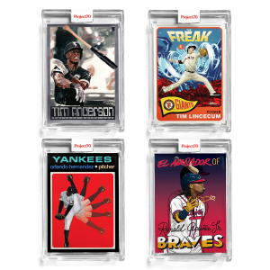 4-Card Bundle - Topps Project70® Cards 190-193