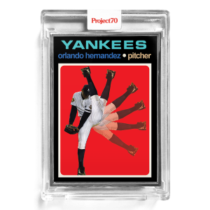 Topps Project70® Card 192 -  1971 Orlando Hernandez by Action Bronson  - Artist Proof # to 51