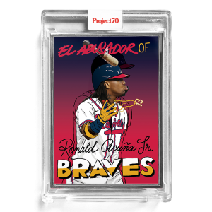 Topps Project70® Card 193 -  1967 Ronald Acuna Jr by Sophia Chang  - Artist Proof # to 51