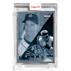 Topps Project70® Card 195 -  1954 Alex Rodriguez by Don C  - Artist Proof # to 51
