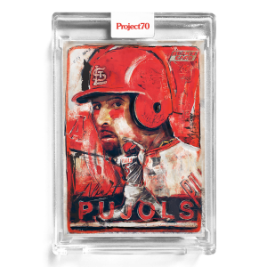 Topps Project70® Card 196 -  2001 Albert Pujols by Andrew Thiele