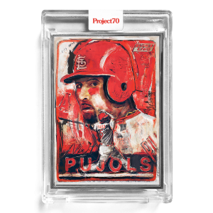 Topps Project70® Card 196 -  2001 Albert Pujols by Andrew Thiele  - Artist Proof # to 51