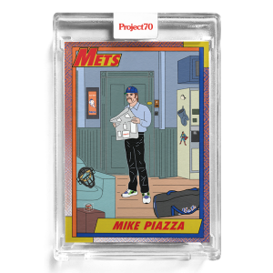 Topps Project70® Card 197 -  1990 Mike Piazza by Oldmanalan