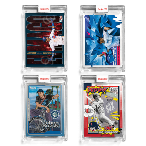 4-Card Bundle - Topps Project70® Cards 198-201