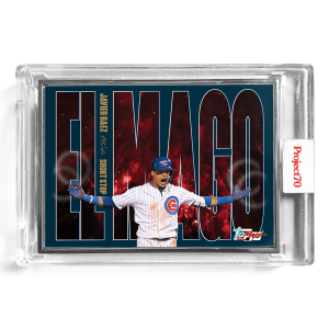 Topps Project70® Card 198 -  1956 Javier Baez by SoleFly  - Artist Proof # to 51