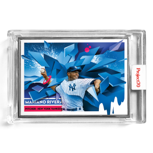 Topps Project70® Card 199 -  1956 Mariano Rivera by Mikael B  - Artist Proof # to 51