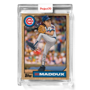 Topps Project70® Card 278 -  1987 Greg Maddux by Blue the Great