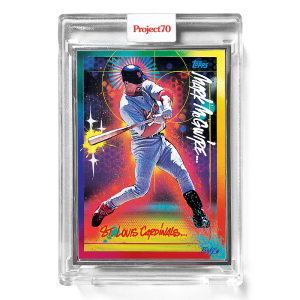 Topps Project70® Card 279 -  1999 Mark McGwire by RISK  - Artist Proof # to 51