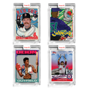 4-Card Bundle - Topps Project70® Cards 298-301