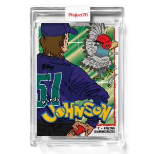 Topps Project70® Card 299 -  1995 Randy Johnson by Ermsy
