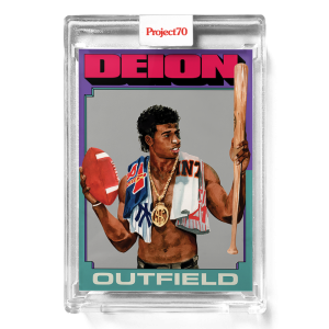 Topps Project70® Card 300 -  1975 Deion Sanders by Jacob Rochester