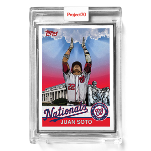 Topps Project70® Card 301 -  1975 Juan Soto by Snoop Dogg  - Artist Proof # to 51