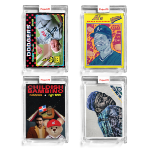 4-Card Bundle - Topps Project70® Cards #306-309