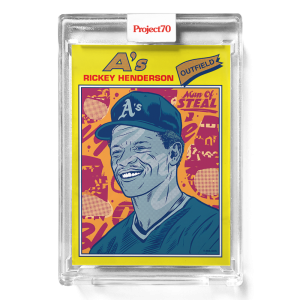 Topps Project70® Card 307 -  1977 Rickey Henderson by Morning Breath