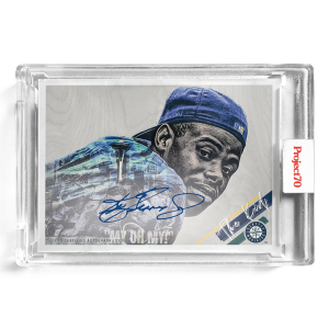 Topps Project70® Card 309 -  1960 Ken Griffey Jr. by Lauren Taylor - On-Card Auto # to 70