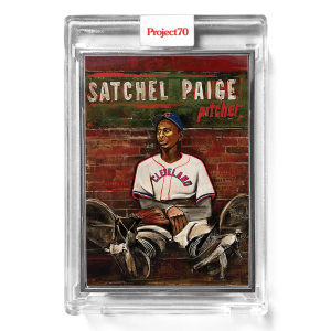 Topps Project70® Card 310 -  1952 Satchel Paige by Andrew Thiele  - Artist Proof # to 51