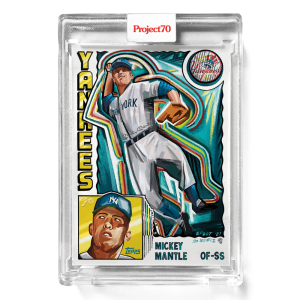 Topps Project70® Card 313 -   Mickey Mantle by Efdot