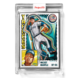 Topps Project70® Card 313 -   Mickey Mantle by Efdot  - Artist Proof # to 51
