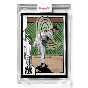 Topps Project70® Card 394 -  2020 Gerrit Cole by Joshua Vides