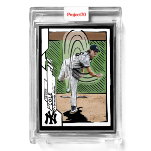 Topps Project70® Card 394 -  2020 Gerrit Cole by Joshua Vides  - Artist Proof # to 51