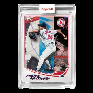 Topps Project70® Card 396 -   Pedro Martinez by FUTURA*