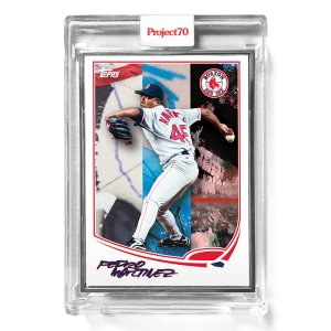 Topps Project70® Card 396 -   Pedro Martinez by FUTURA*  - Artist Proof # to 51