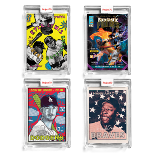 4-Card Bundle - Topps Project70® Cards #398-401