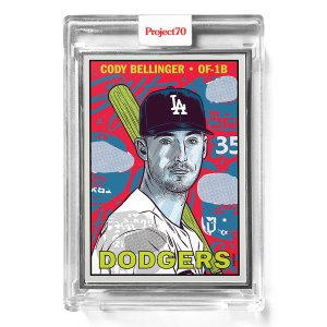 Topps Project70® Card 400 -  1967 Cody Bellinger by Morning Breath  - Artist Proof # to 51