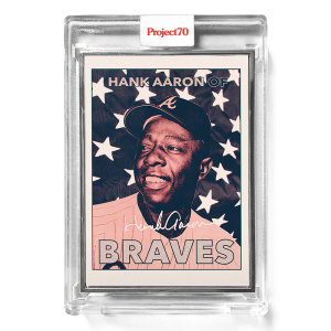 Topps Project70® Card 401 -  1967 Hank Aaron by Fucci  - Artist Proof # to 51
