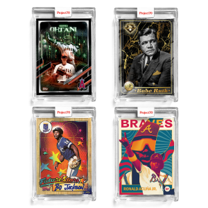 4-Card Bundle - Topps Project70® Cards #550-553