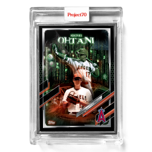 Topps Project70® Card 550 -   Shohei Ohtani by The Shoe Surgeon  - Artist Proof # to 51