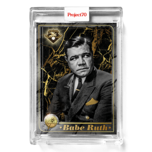 Topps Project70® Card 551 -  2001 Babe Ruth by Mikael B