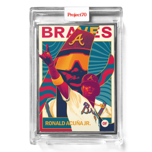Topps Project70® Card 553 -  1962 Ronald Acuna Jr by Matt Taylor  - Artist Proof # to 51