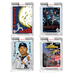 4-Card Bundle - Topps Project70® Cards #554-557