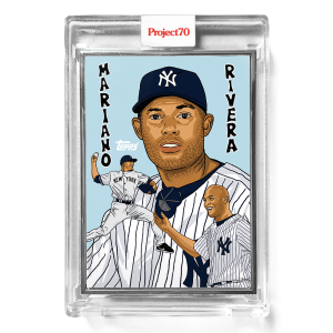 Topps Project70® Card 556 -  1995 Mariano Rivera by Ma®ket  - Artist Proof # to 51