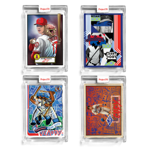 4-Card Bundle - Topps Project70® Cards #566-569