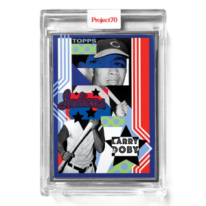 Topps Project70® Card 567 -  2003 Larry Doby by POSE  - Artist Proof # to 51