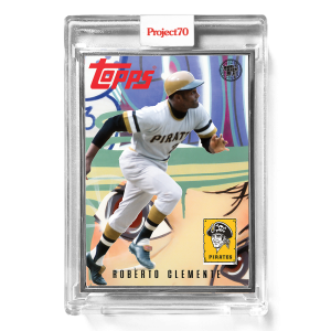 Topps Project70® Card 570 -   Roberto Clemente by Toy Tokyo  - Artist Proof # to 51