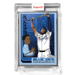 Topps Project70® Card 571 -  1982 Vladimir Guerrero Jr. by Sophia Chang  - Artist Proof # to 51