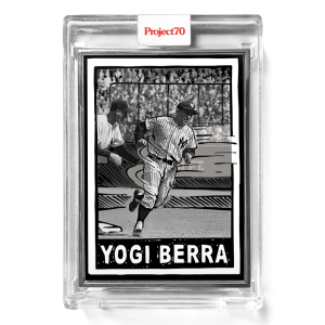 Topps Project70® Card 572 -   Yogi Berra by Joshua Vides  - Artist Proof # to 51