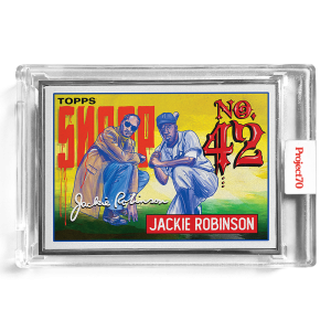 Topps Project70® Card 573 -  1993 Jackie Robinson by Snoop Dogg  - Artist Proof # to 51