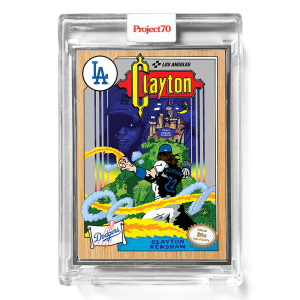 Topps Project70® Card 577 -   Clayton Kershaw by Ermsy  - Artist Proof # to 51