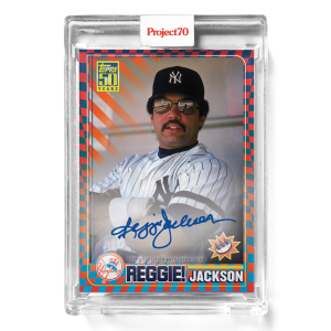Topps Project70® Card 579 -  2001 Reggie Jackson by Claw Money - On-Card Auto # to 70