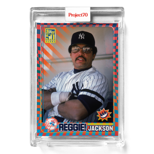 Topps Project70® Card 579 -  2001 Reggie Jackson by Claw Money