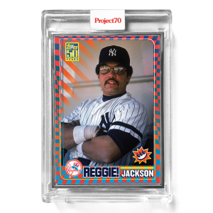 Topps Project70® Card 579 -  2001 Reggie Jackson by Claw Money  - Artist Proof # to 51
